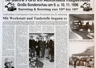 50 Jahre Fordhändler