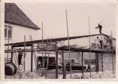 Anbau der Ausstellungshalle Dezember 1964