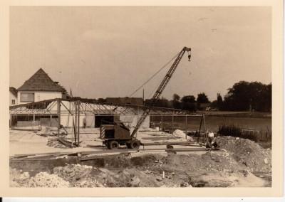 Anbau der Ausstellungshalle 3 Dezember 1964