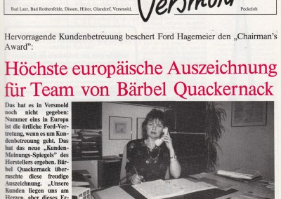 Bericht aus dem Spöhenkiker Oktober 1989