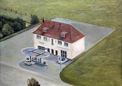 Das Autohaus Hagemeier Ende der 30erJahre