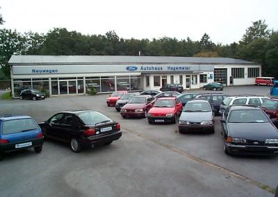 Der Betrieb in Steinhagen in den späten 90erJahren
