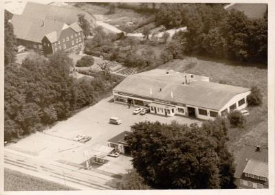 Die Anfang der 60er Jahre errichtete Filiale in Steinhagen