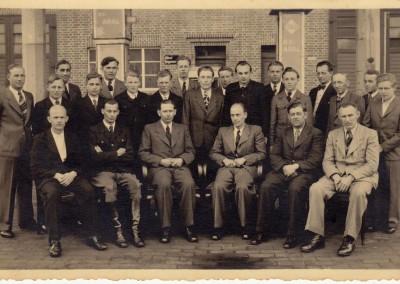 Die Belegschaft um 1950