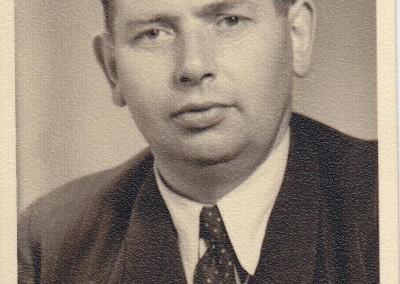 Firmengründer Alfred Hagemeier in jungen Jahren