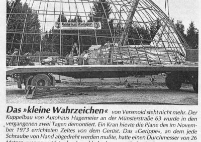 Kuppelabbau 1997