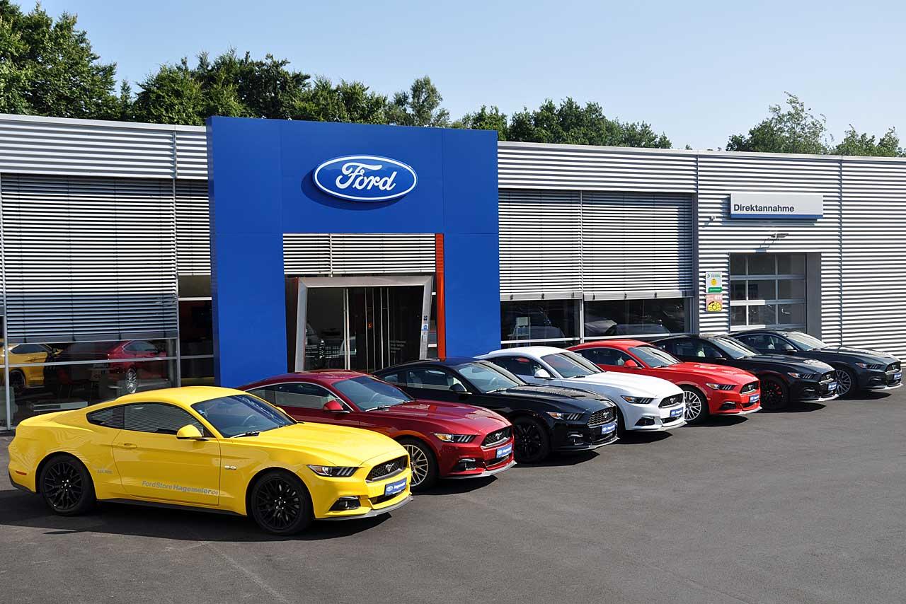 Der neue Ford MUSTANG im FordStore Hagemeier