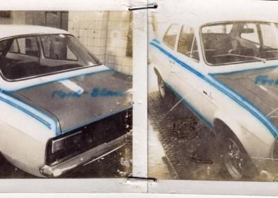 Rallye Lackierung Ford Escort (Ausführung)