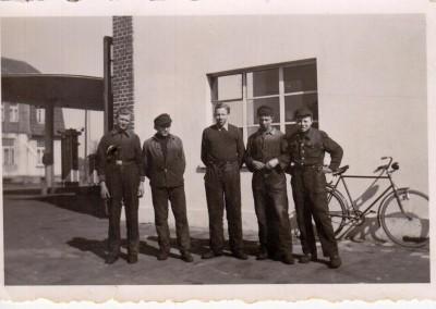 Von links Wilfried Richter , Friedel Ventker, Wilfried Redeker, Reinhard Kardinal, Arnold Gottschild