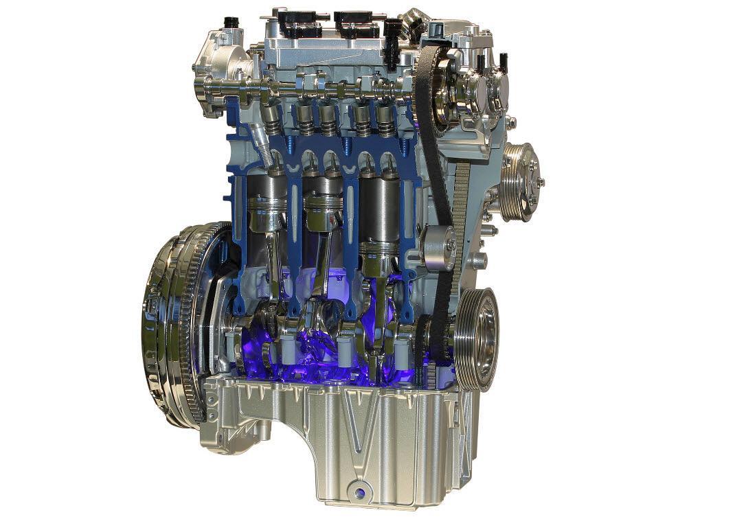 B-MAX 1,0l EcoBoostmotor