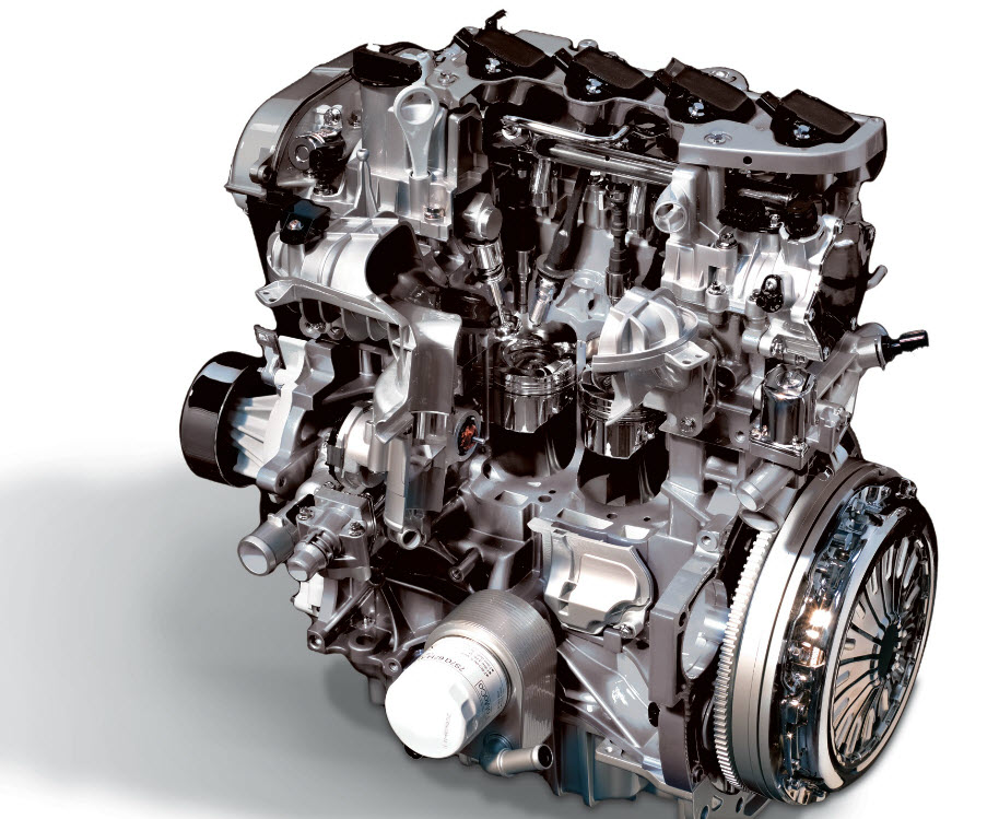 Der kraftvolle 2,0-l-TDCi Dieselmotor im Ford KUGA
