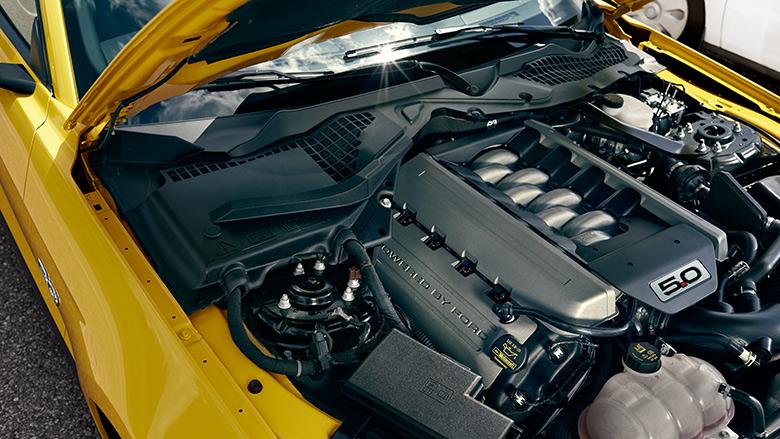Ford MUSTANG Mustang 5,0-l-V8-Benzinmotor