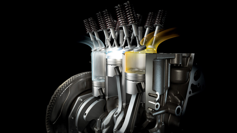 EcoBoost-Benzinmotoren im Ford S-MAX