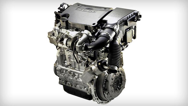 Der kraftvolle 2,0-l-TDCi Dieselmotor im Ford GALAXY