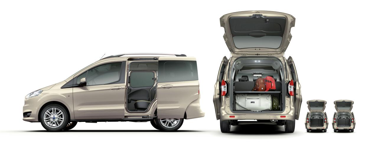 ford tourneo courier der kompakte personentransporter autohaus hagemeier. Black Bedroom Furniture Sets. Home Design Ideas