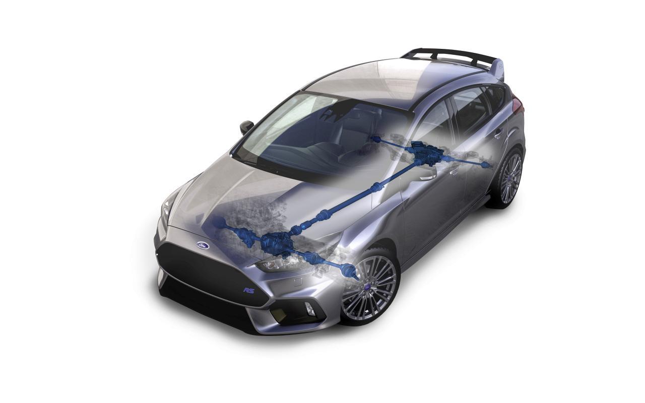 """Ford FOCUS RS - dynamische Drehmomentverteilung """"Dynamic Torque Vectoring"""""""