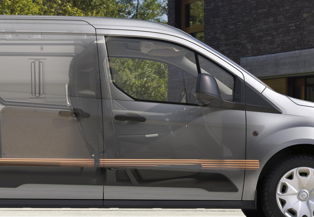 Ford TRANSIT CONNECT - Einzigartiger Stauraum für Ladungen