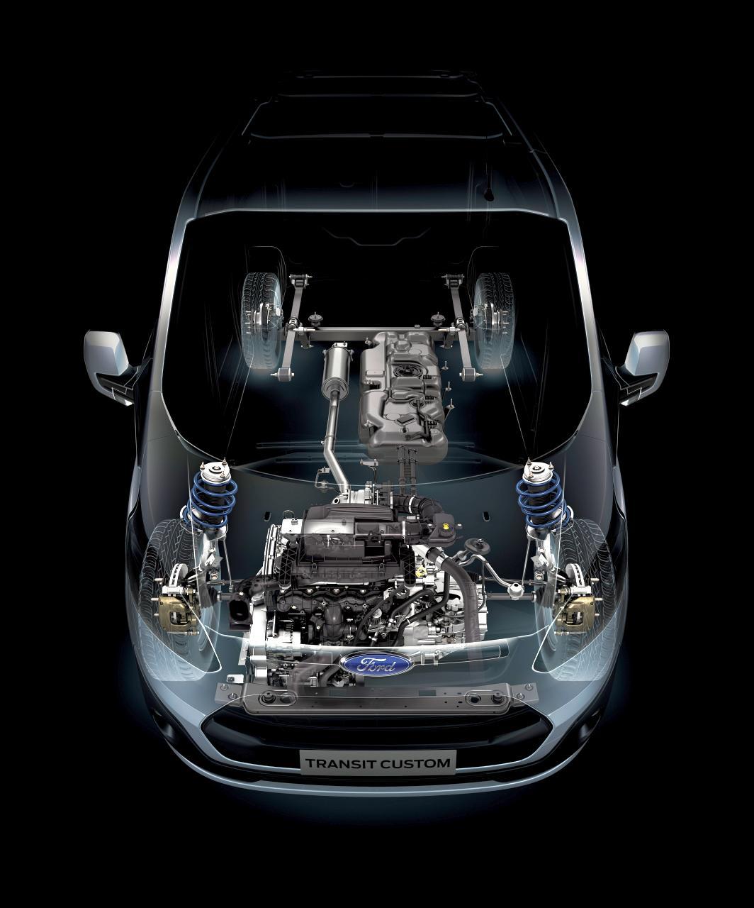 Ford TRANSIT CUSTOM - Moderne 2,2l TDCi Motoren