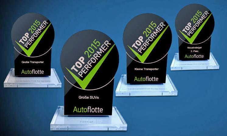 Autoflotte TopPerformer 2015