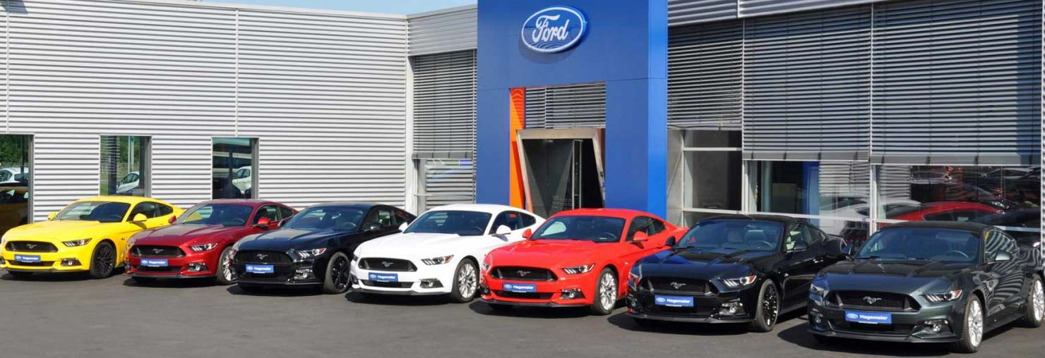 Ford Mustang beim FordStore Hagemeier