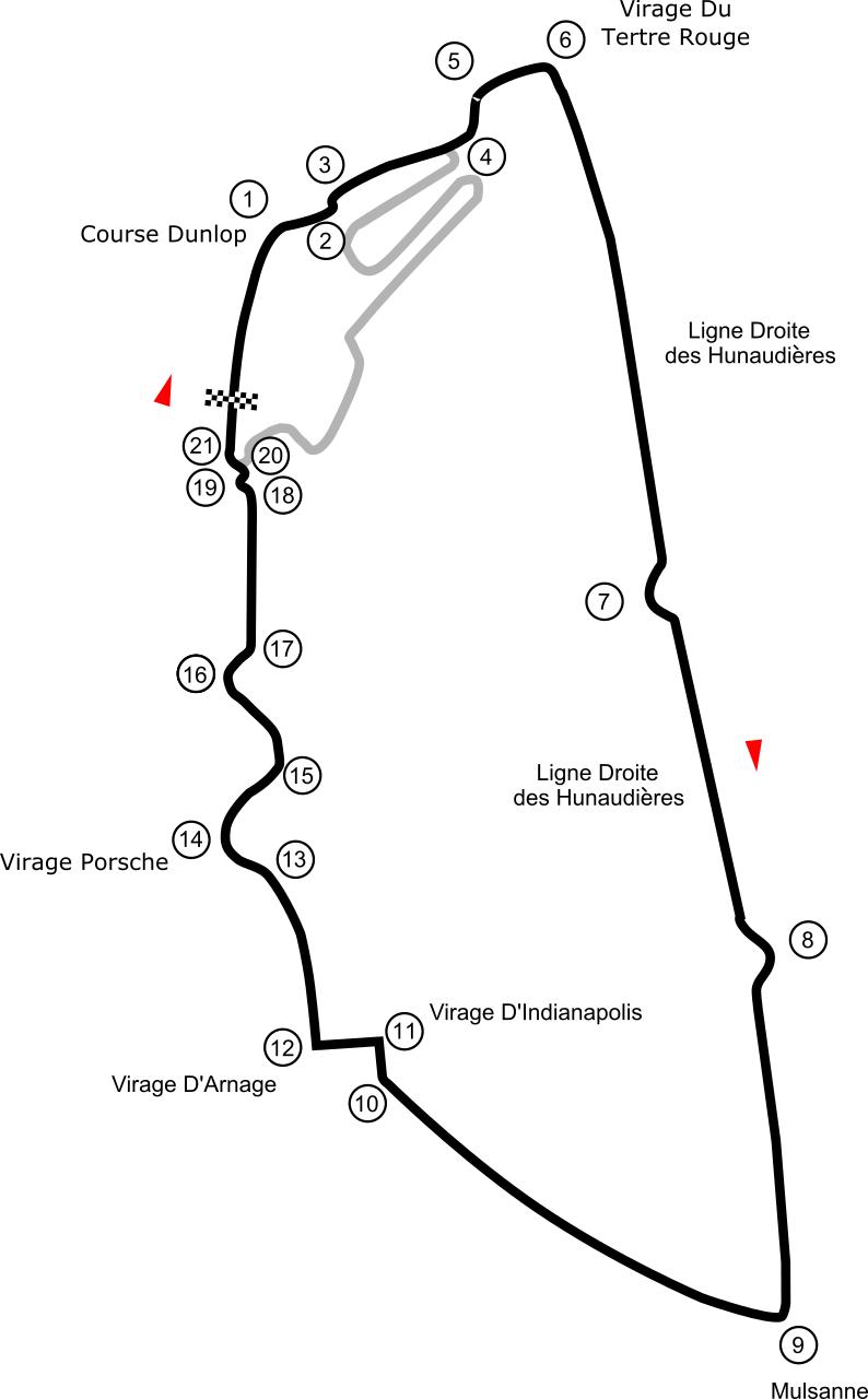 Circuit LeMans: Quelle WikiMedia