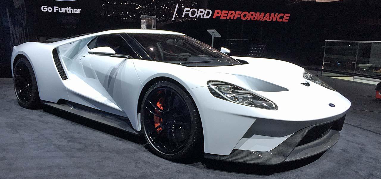 Ford GT 2016 auf dem Genfer Automobilsalon