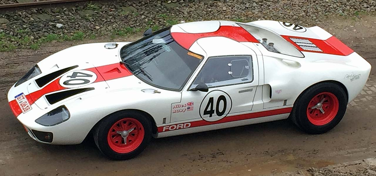 Unser Ford GT40