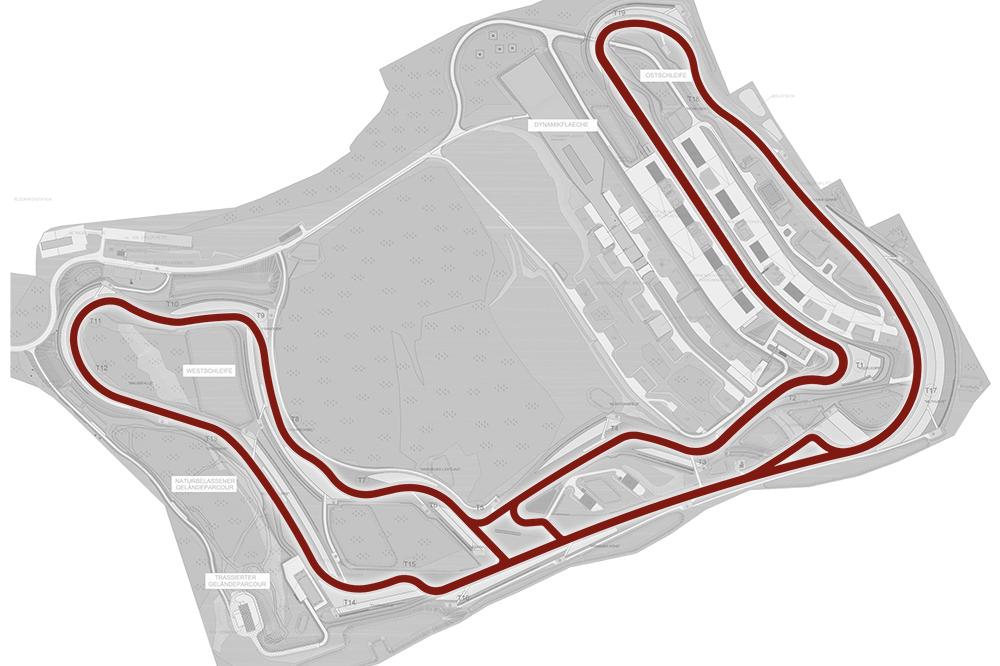 Skizze Streckenverlauf Bilster Berg
