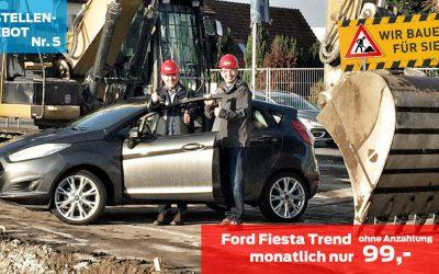 Ford Fiesta Trend – Baustellenangebot 5