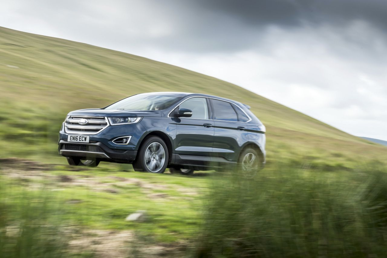 Ford Edge, Scotland. July 2016Photo James Lipman / jameslipman.com