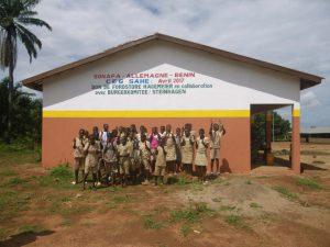 Neubau einer Schule in Sahé in Benin