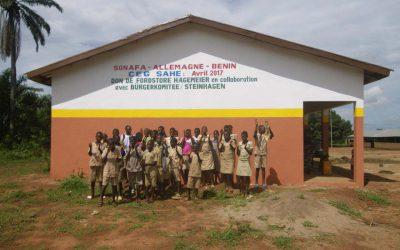 Neubau Nummer 3 – Entwicklungshilfe in Benin