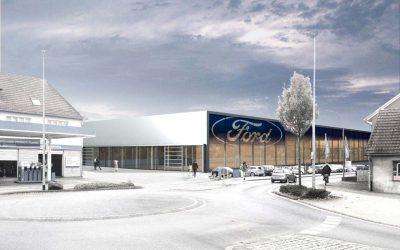 Ford Autohaus Hagemeier – Neubau in Versmold wird eröffnet