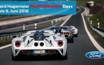 1. Ford Hagemeier Performance Days am 8. bis 9. Juni 2018