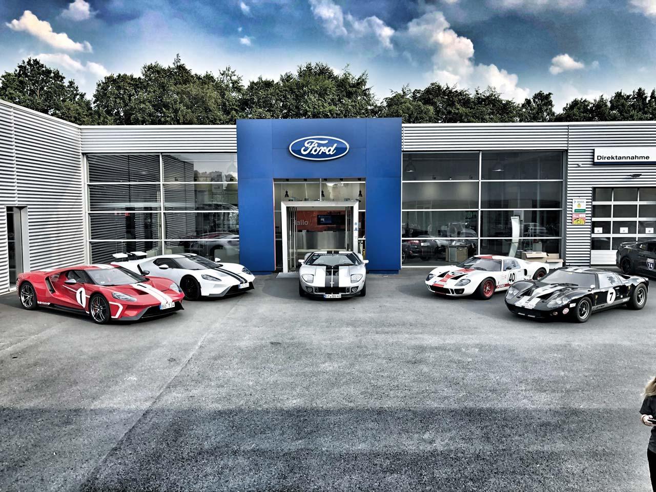 Hagemeier - Ford GT Service Dealer der ersten Stunde