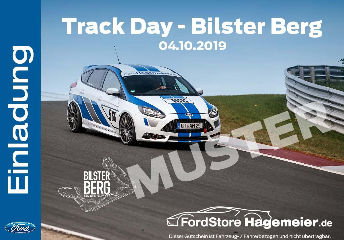 Gutschein Track Day - Bilster Berg