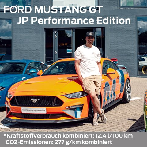 Ford MUSTANG GT JP Edition