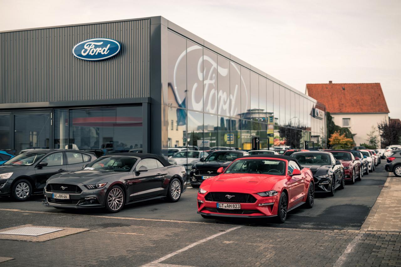 Ford Hagemeier Mustang-Tour