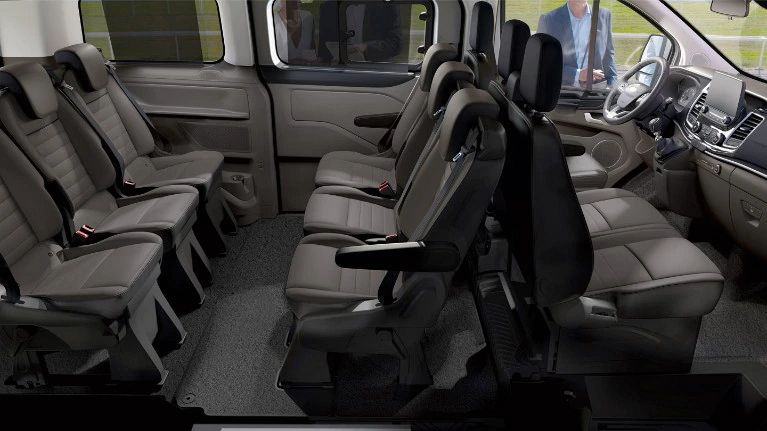 Ford TOURNEO CUSTOM - Sprachgesteuertes Kommunikations- und Entertainmentsystem SYNC