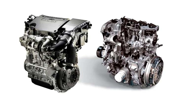 Duratorq TDCi Dieselmotor im Ford TOURNEO COURIER